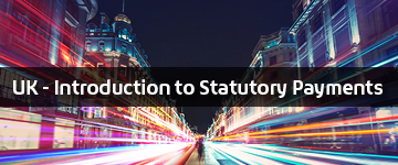 UK - Introduction to Statutory Payments