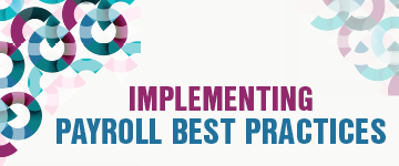 Implementing Payroll Best Practices