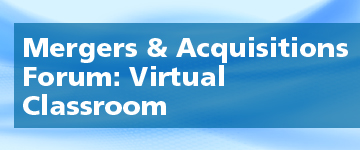 Mergers and Acquisitions Virtual Classroom