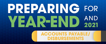 Preparing for Year End - Accounts Payable