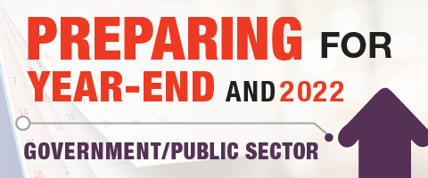 Preparing for Year End - Government and Public Sector