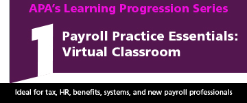 Payroll Practice Essentials Virtual Classroom