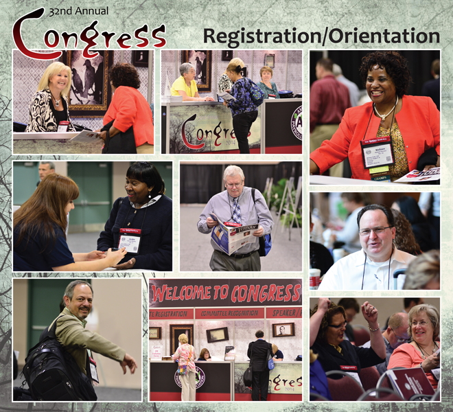 Congress Registration photos