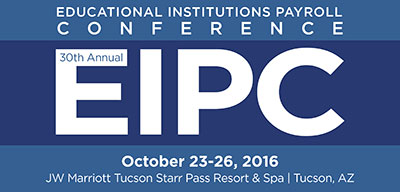 Educational Institutions Payroll Conference