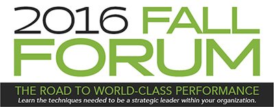 Fall Forum Payroll Conference | Sept 22-23, 2016 | Mirage Hotel | Las Vegas, NV | The Fall Forum