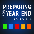 Preparing for Year-End and 2017