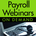 Payroll Webinars On Demand