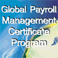 Global Payroll Management Certificate Program