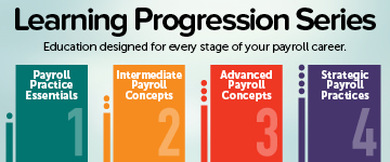 Progression Series for Payroll Education